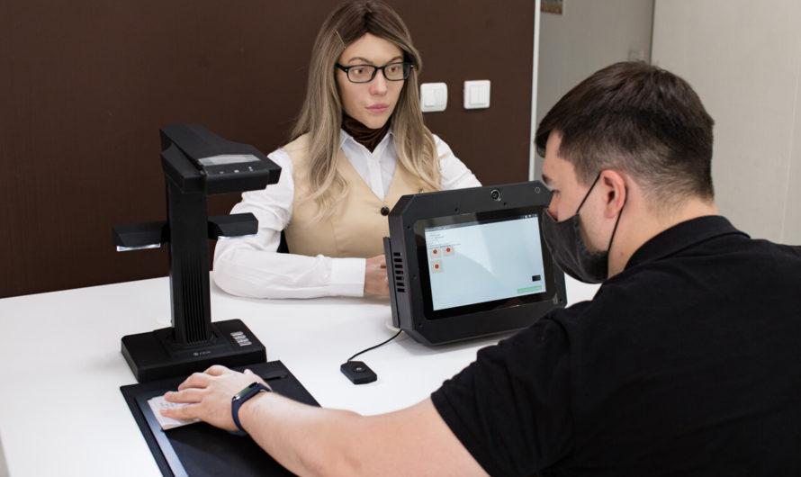 В Перми человекоподобный робот помогает получать госуслуги в МФЦ