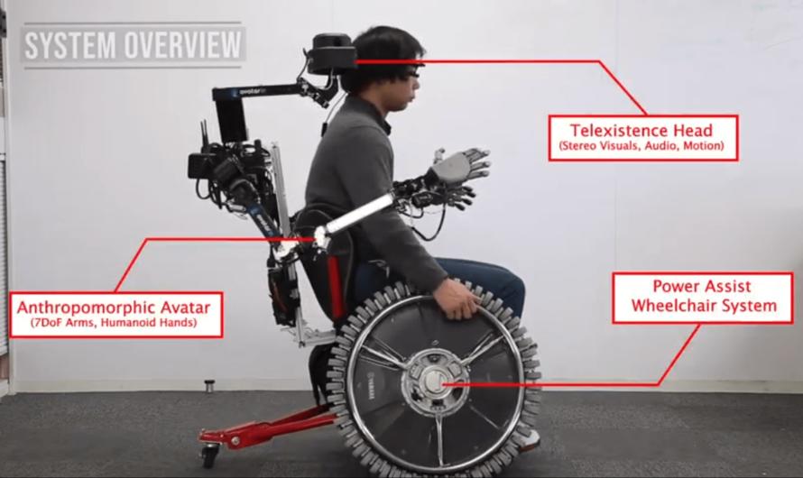 Японские инженеры разработали инвалидную коляску с роботизированными руками