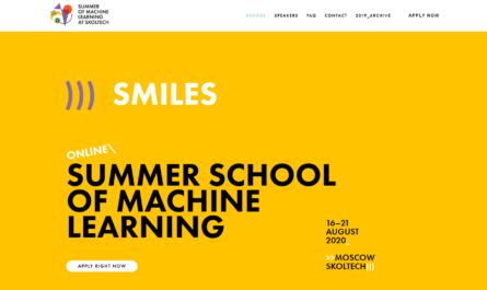 Летняя школа по машинному обучению SMILES