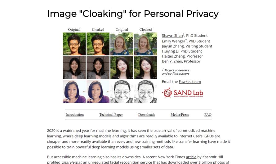 Сервис с машинным обучением защитит фотографии от распознавания лиц