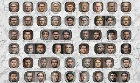 Нейросеть воссоздала лица римских императоров