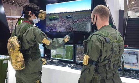 VR-комплекс для обучения военных связистов
