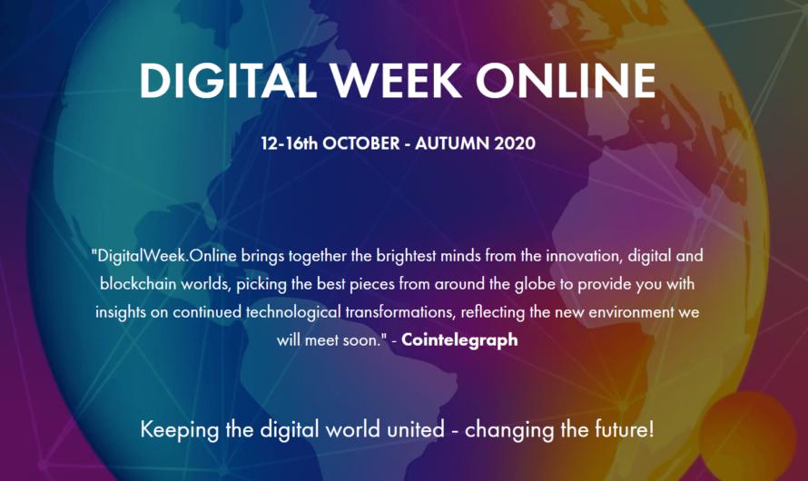 Онлайн-конференция Digital Week Online