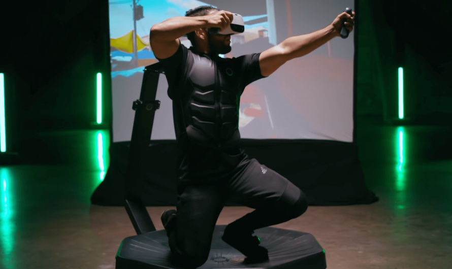 Создана беговая дорожка Omni One для игр в виртуальной реальности