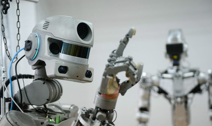 FEDOR — первый отечественный робот в космосе