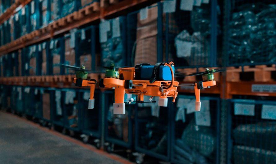 Беспилотники помогают проводить инвентаризацию грузов на складах