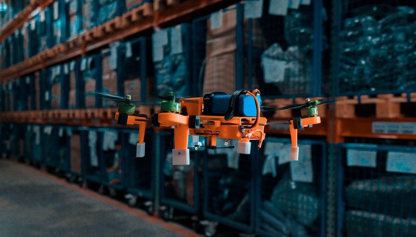 Беспилотники для инвентаризации грузов на складах