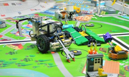 Олимпиада по робототехнике для учеников 4–11-х классов