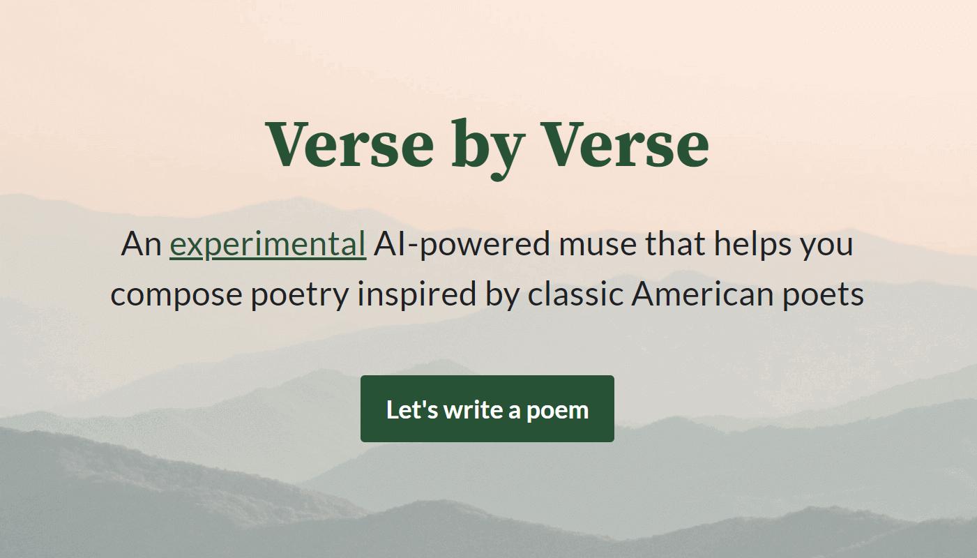 Verse by Verse