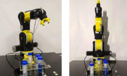 Химические эксперименты проводят роботы
