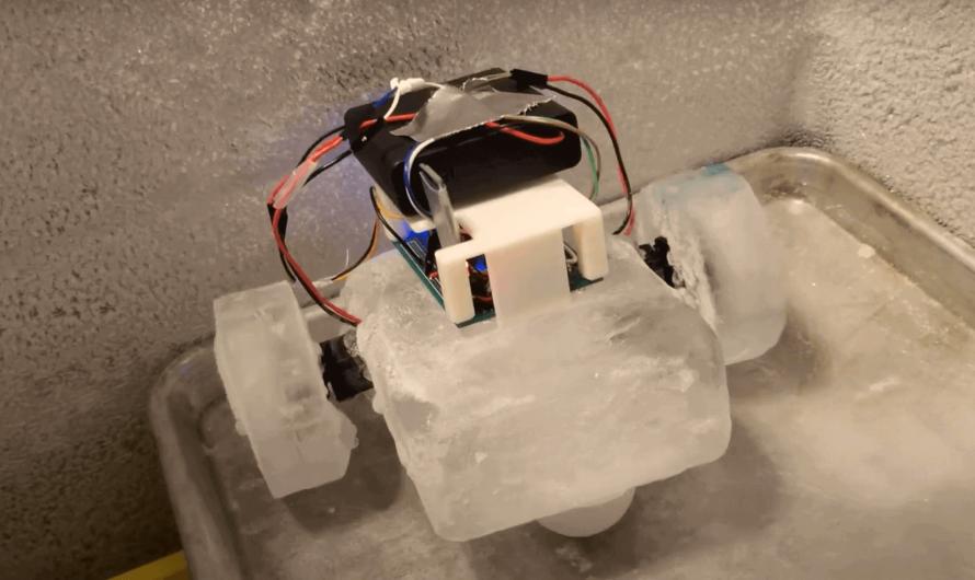 Инженеры предложили делать роботов изо льда