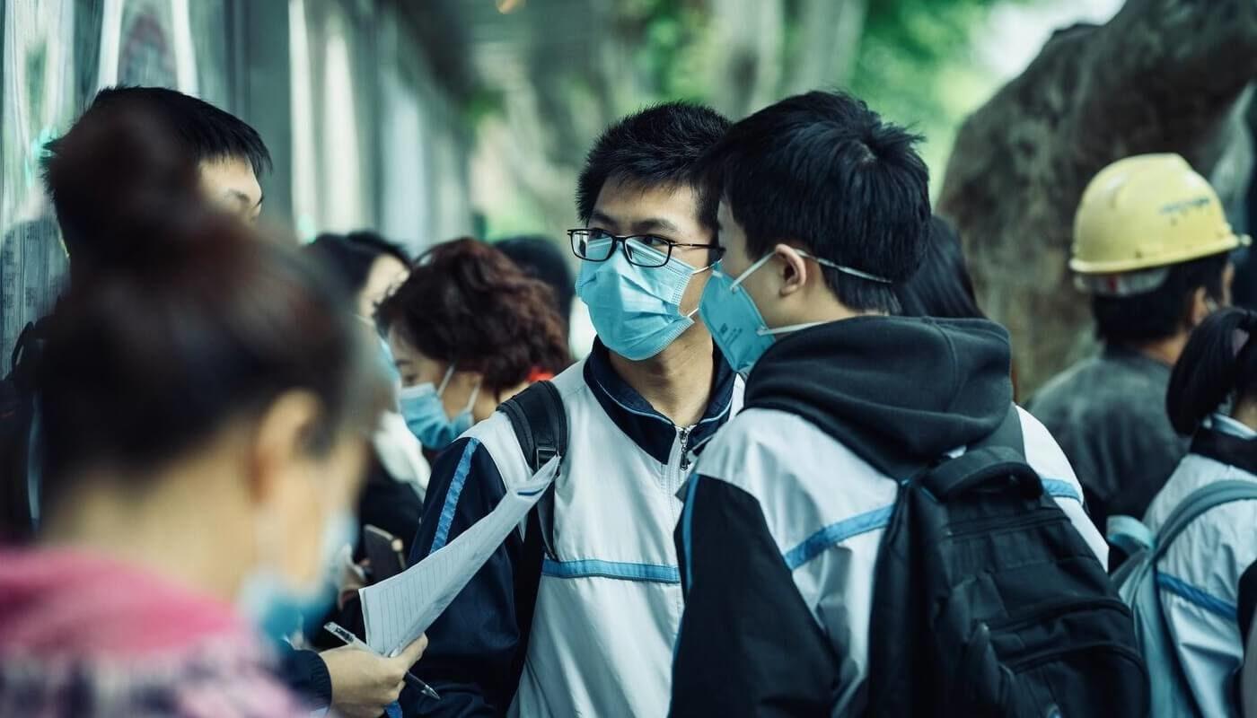 NEC система распознавания лиц в масках