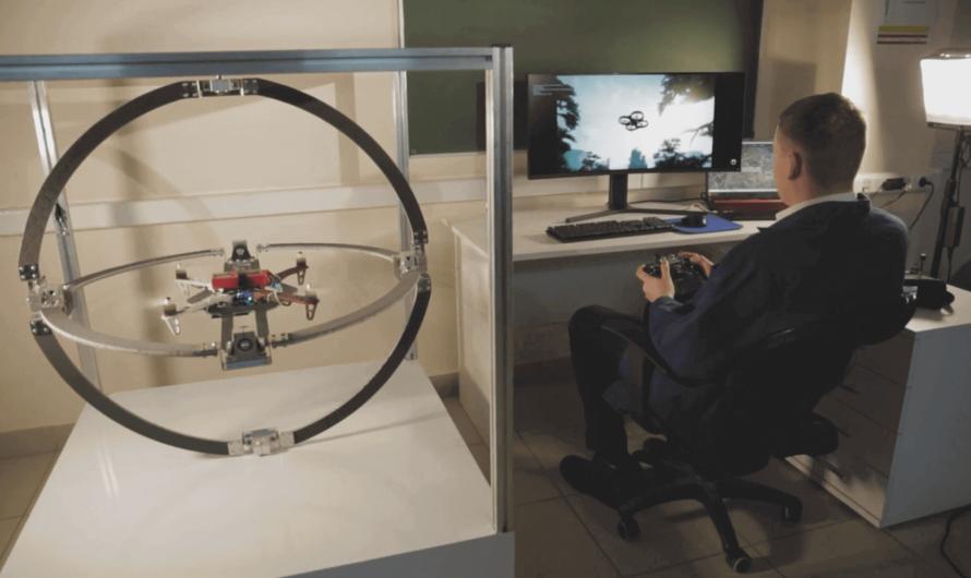 Российские учёные разработали тренажёр, объединяющий виртуальную реальность и дрон