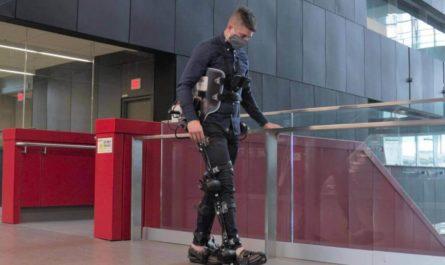 Экзоскелетами управляет ИИ