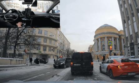 Как беспилотные автомобили справляются с зимой