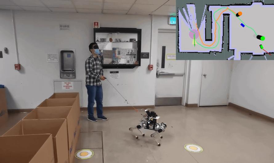 Учёные создали робота-поводыря, который заменит живую собаку