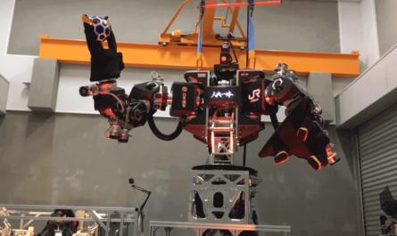 Управляемый человекоподобный робот