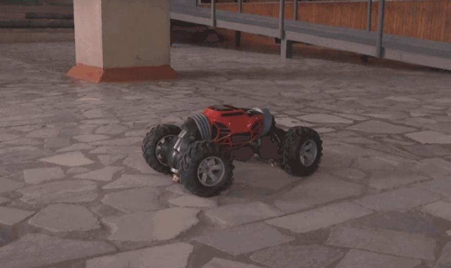 В России создан пожарный робот-манипулятор