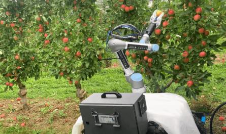 Apple Harvester 3 Robot
