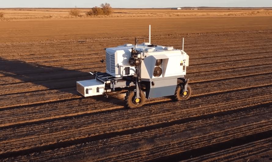 Создан робот с искусственным интеллектом для выжигания сорняков лазерами