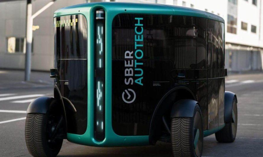 Сбер представил полностью автономный транспорт «ФЛИП»