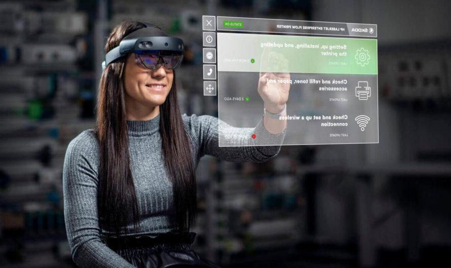 Skoda тестирует очки дополненной реальности на производстве и в обучении