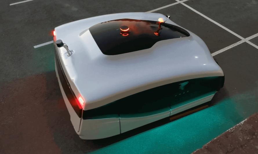 В Финляндии на улицы выехал первый автономный робот-дворник