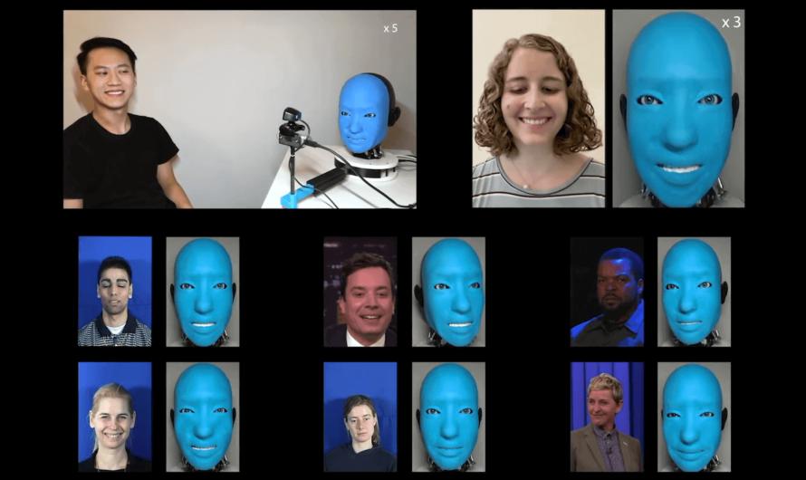 Инженеры создали робота, который умеет улыбаться человеку в ответ