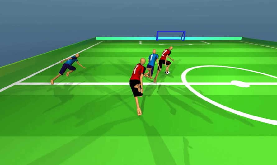 Нейросетевых агентов научили командной игре в футбол