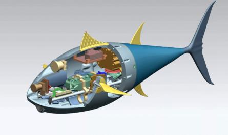 Биоморфный робот-тунец