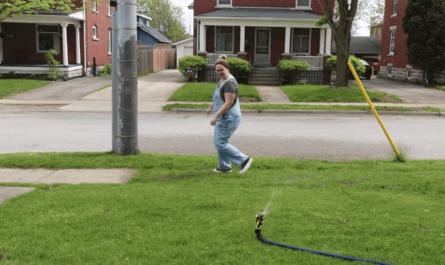 People-Detecting Lawn Sprinkler