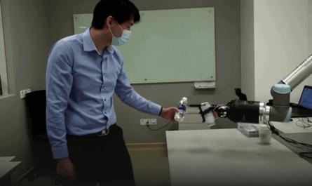 Роботизированная рука с регенерацией