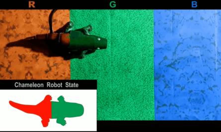 Chameleon robot