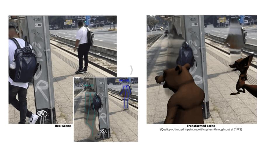 Нейросети научились заменять реальные объекты на улице на виртуальные